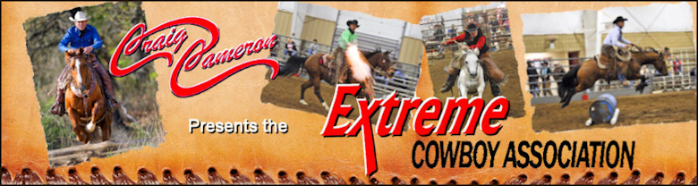 Extreme Cowboy Association Banner